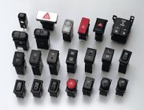 ハザードスイッチ/フォグランプスイッチ/ライティングスイッチ/ワイパーコントロールスイッチ