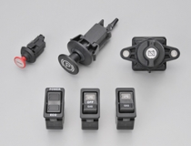 バッテリスイッチ/建設機械用スイッチ/パーキングスイッチ/パネルスイッチ/ストップスイッチ